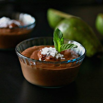 Espresso Chocolate Avocado Pudding