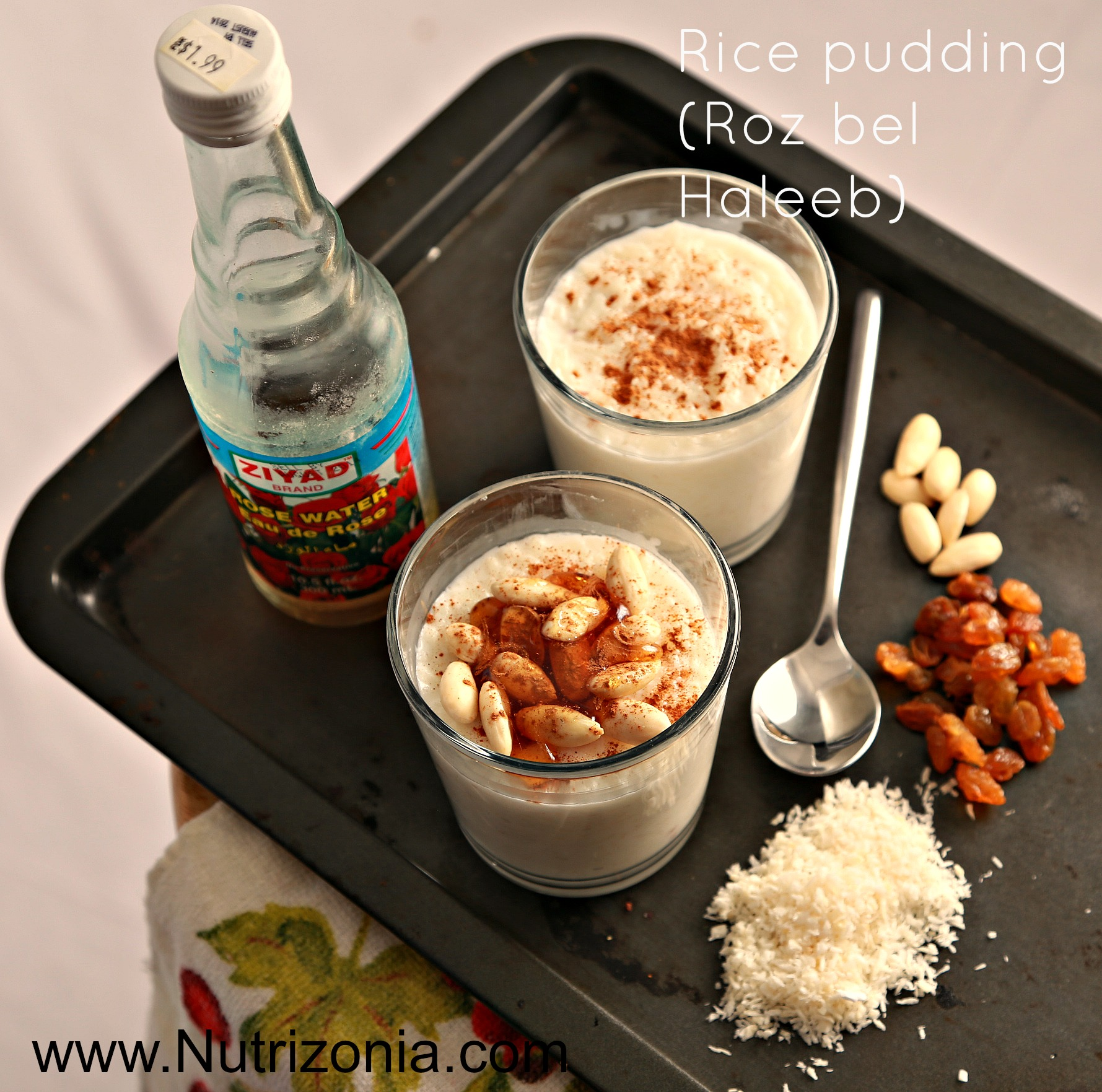 Rice pudding roz bel haleeb this rice pudding is a popular dessert in arabic cuisine and the whole world my mom made it very often especially for my dad forumfinder Image collections