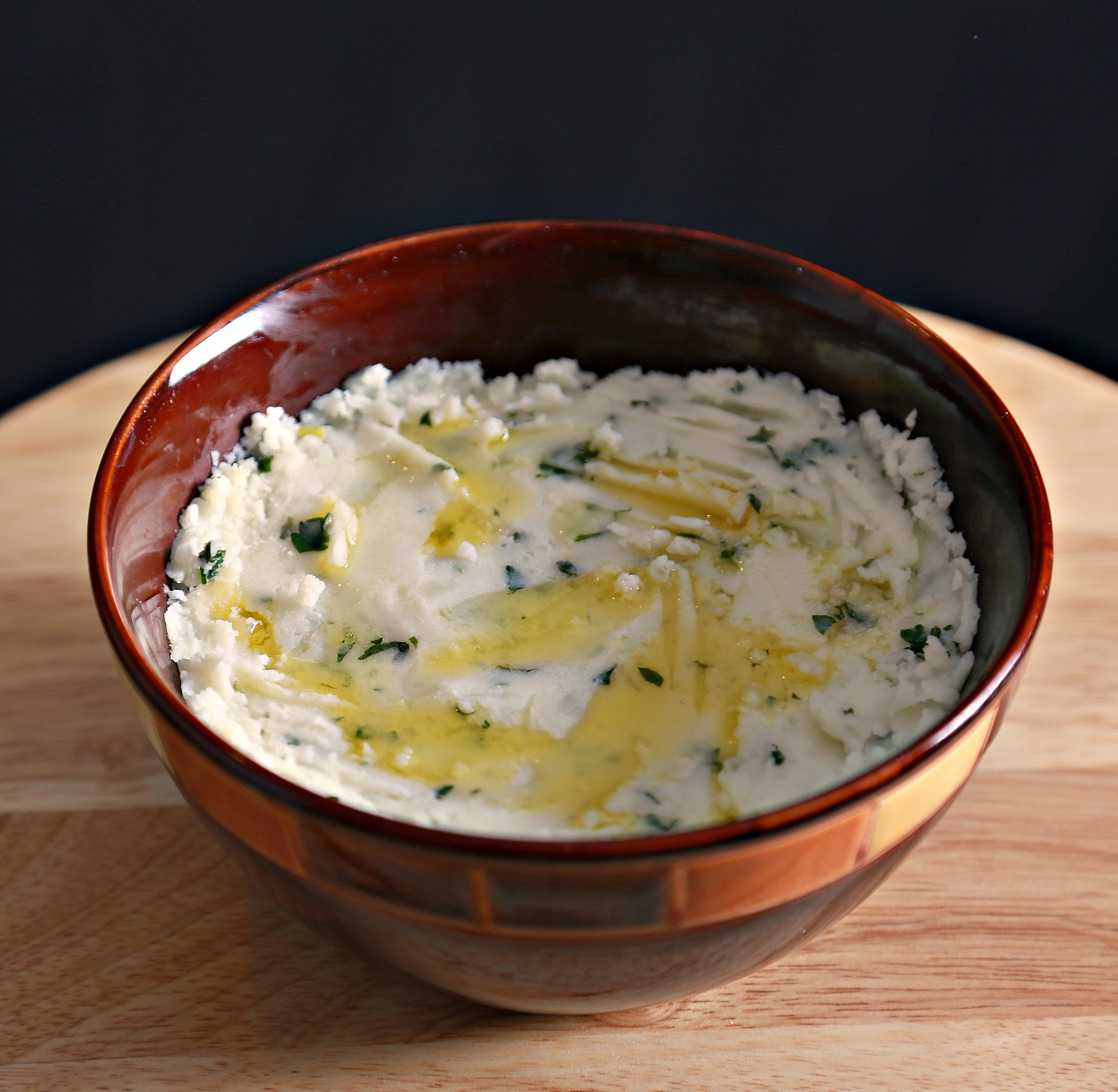 Arabic mashed potato