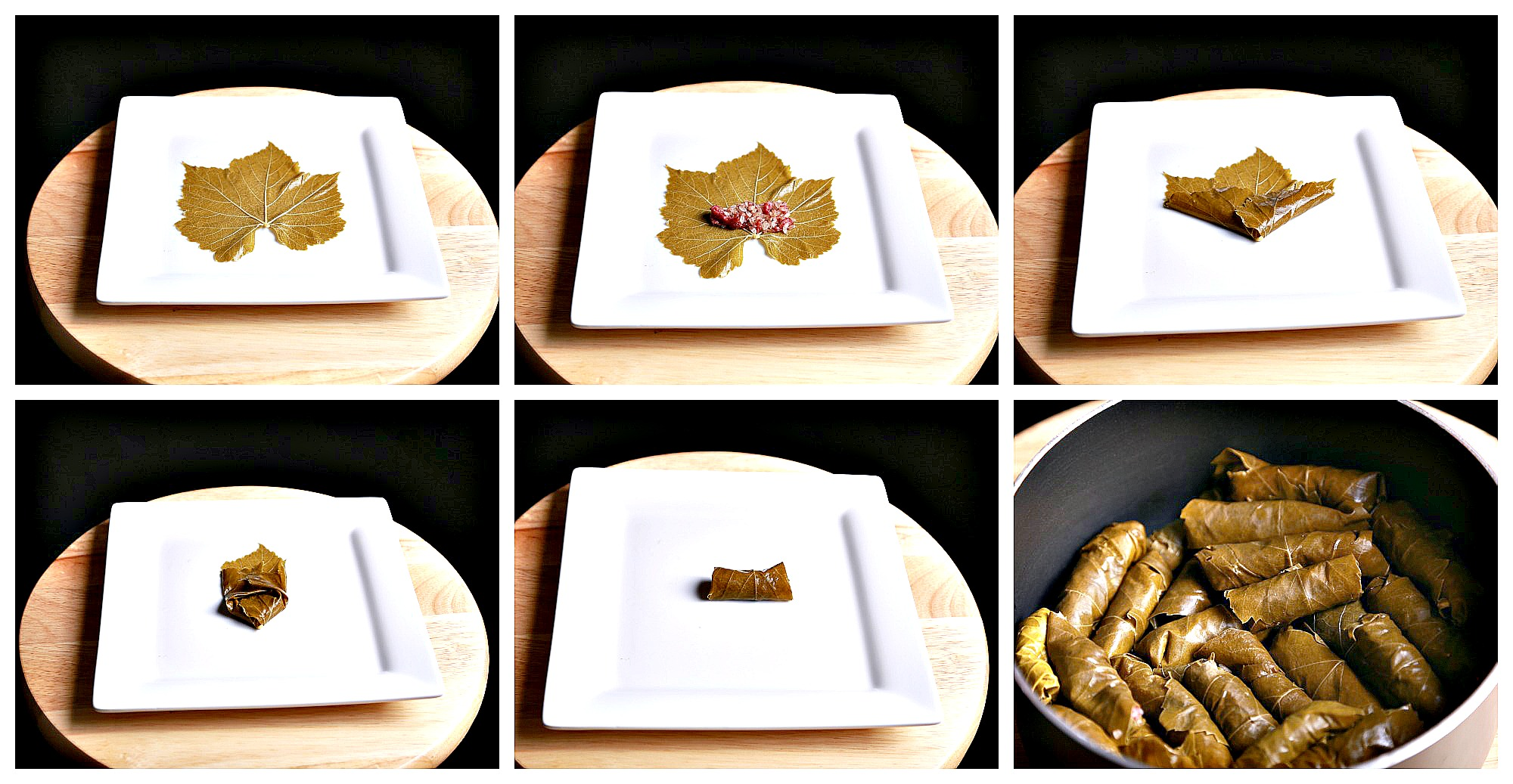How to make stuffed Grape leaves (war'a dawali )