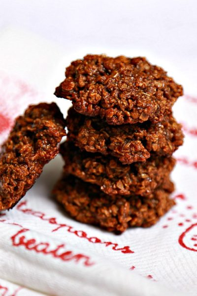 Molasses & Tahini cookies