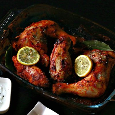 Easy Healthy Baked Chicken