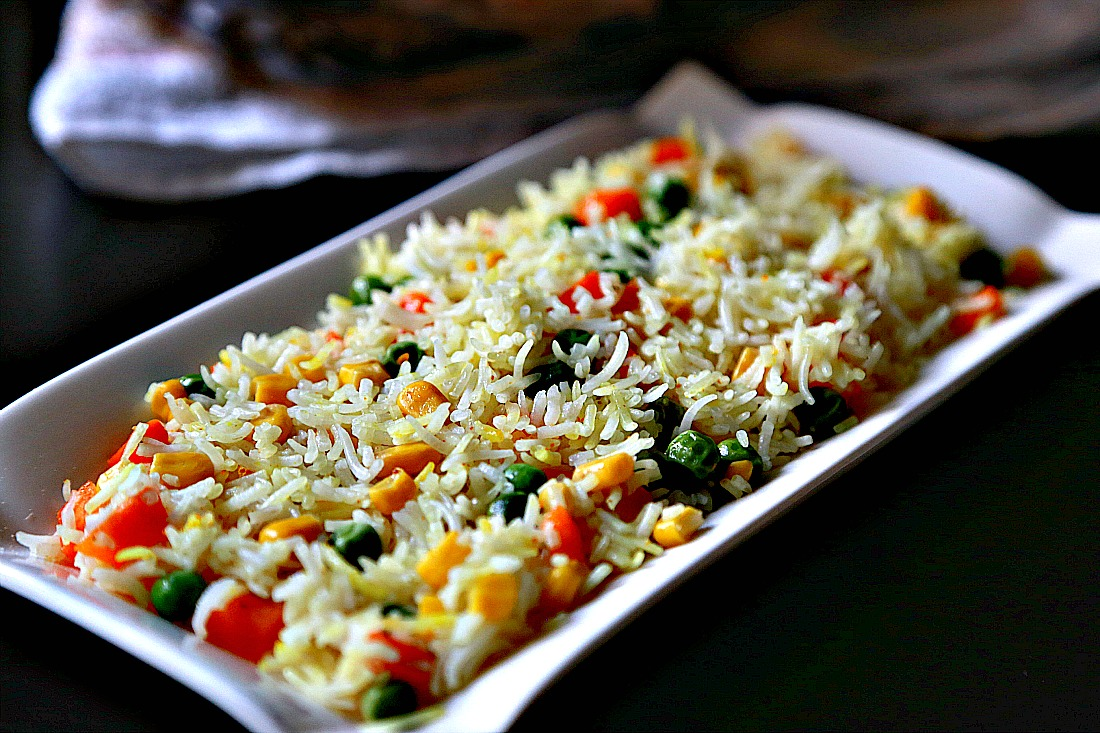 Rice with veggies