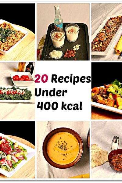 20 Recipes Under 400 Kcal