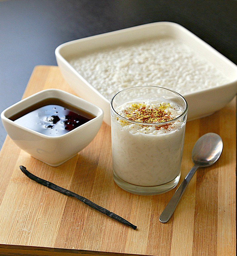 Vanilla Bean Rice Pudding - :: Nutrizonia ::