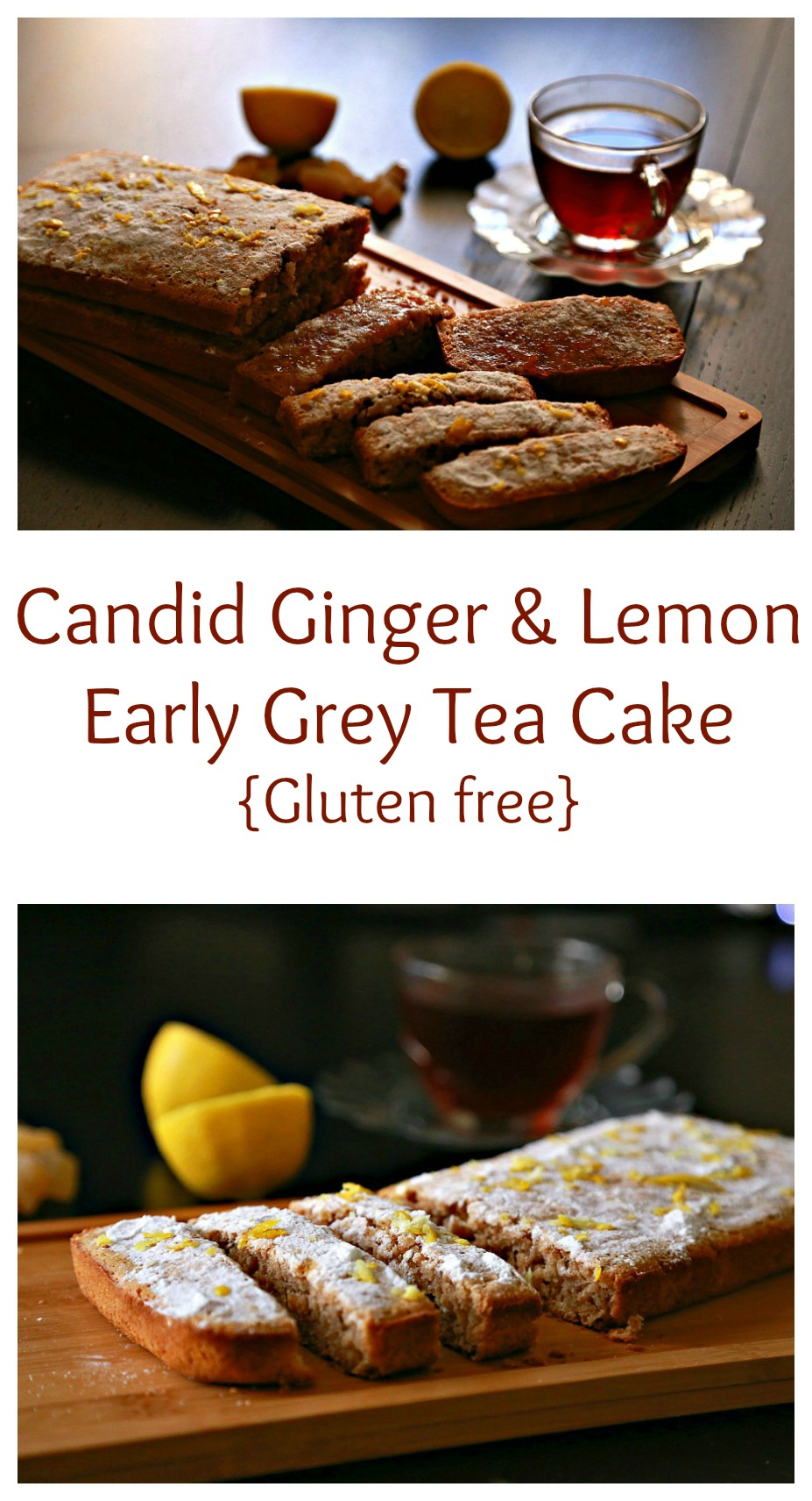 Candid ginger cake collage edited