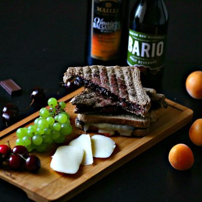 Cherry & Apricot Grilled Sandwiches (3 ways)