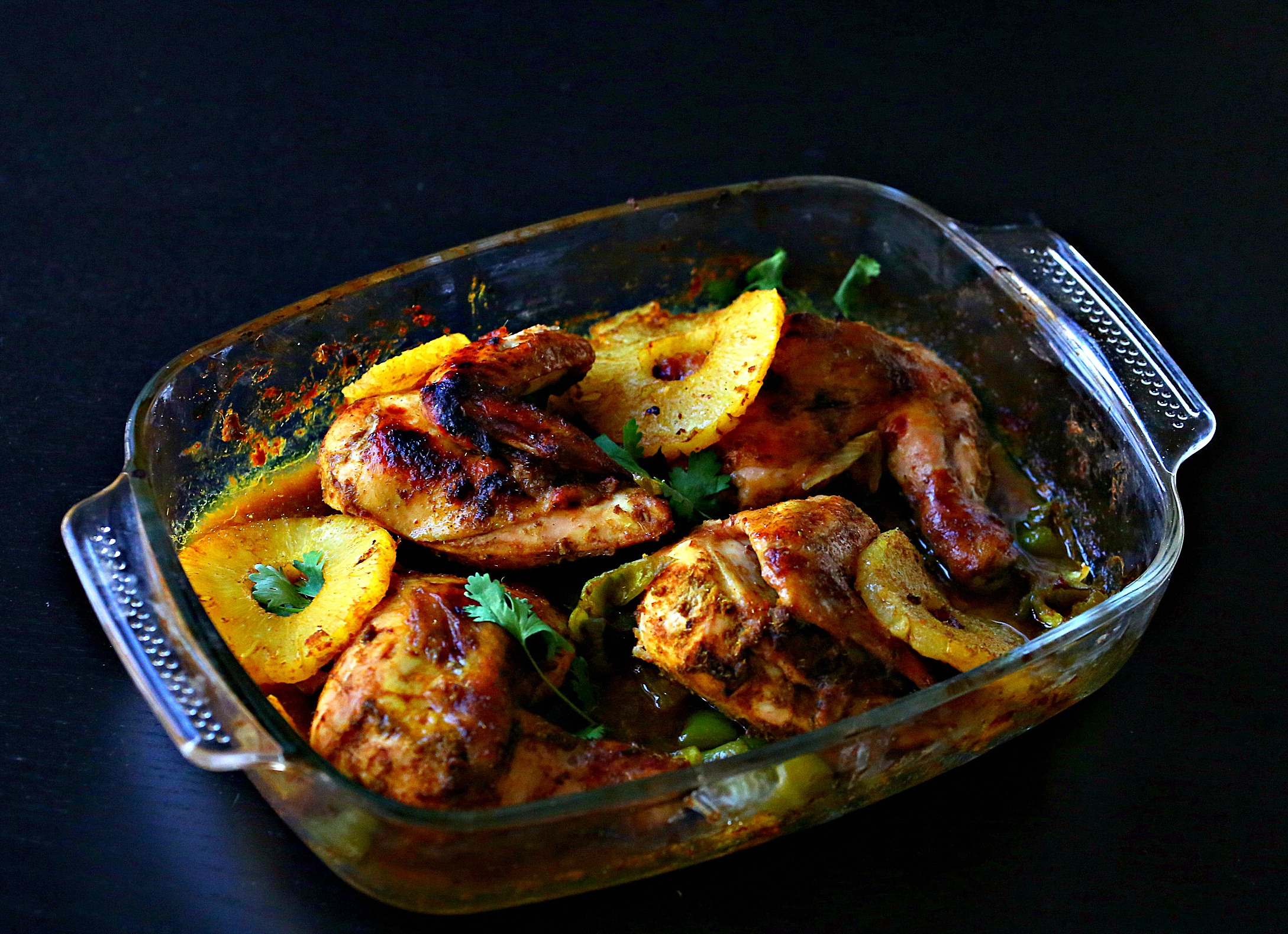 Easy Thai Baked Chicken with Pineapple