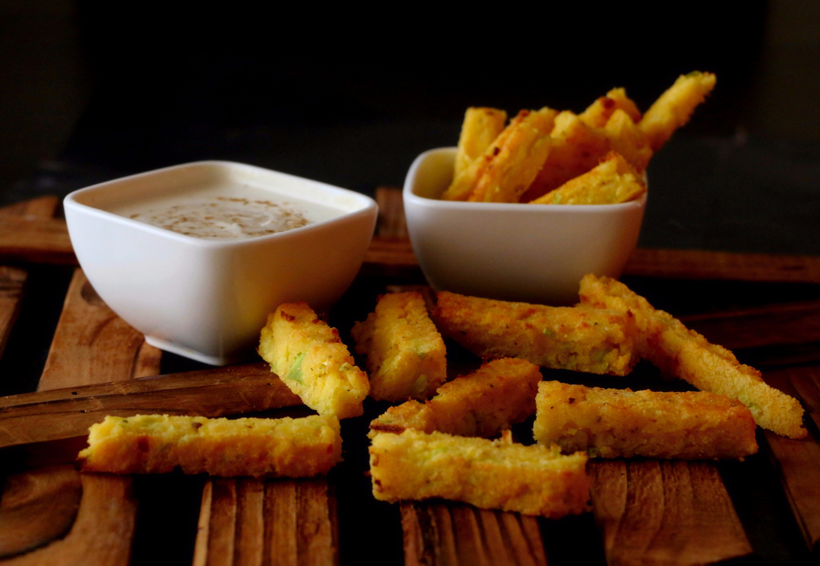 polenta baked fries