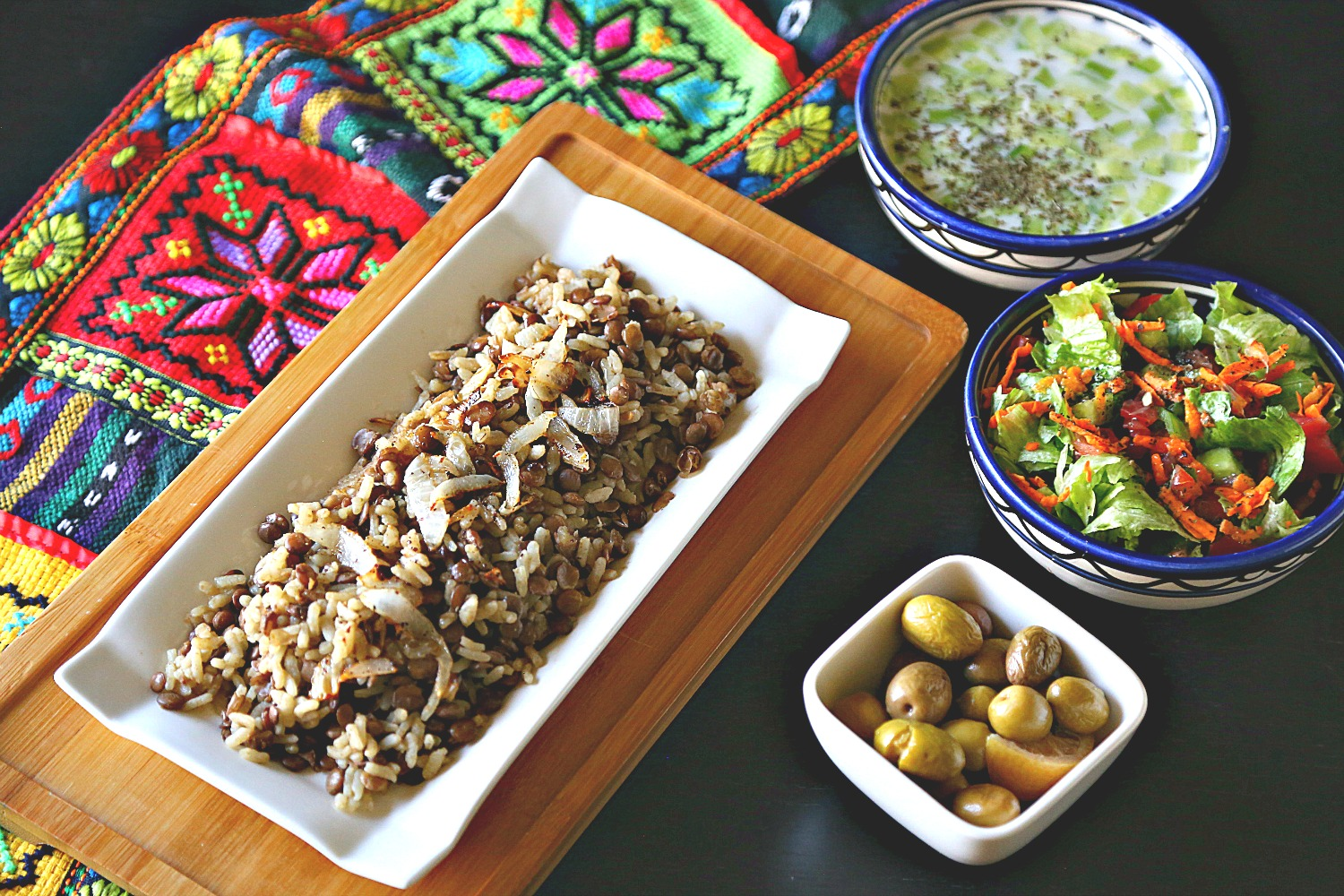 Rice and Lentils Pilaf (Mujaddara)