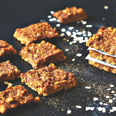 Easy Pumpkin Spice Oatmeal Bars
