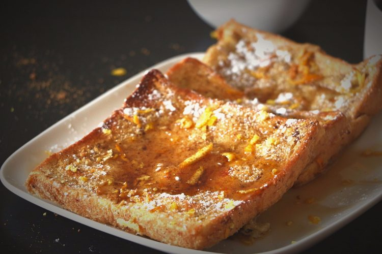Spiced Orange Baked French Toast