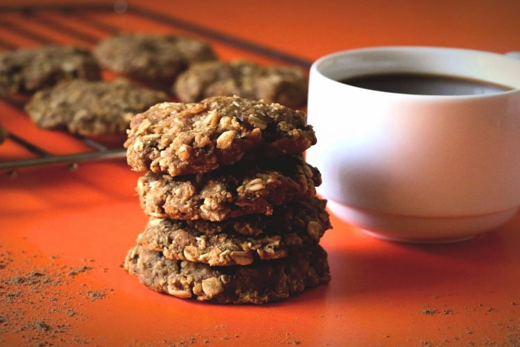 Easy Sweet Potato Oatmeal Cookies