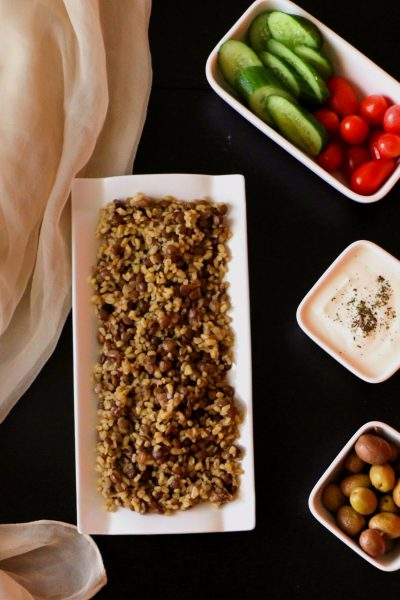 Bulgur Pilaf with Lentils